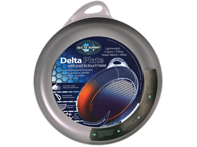 Sea to Summit Delta Plate grey